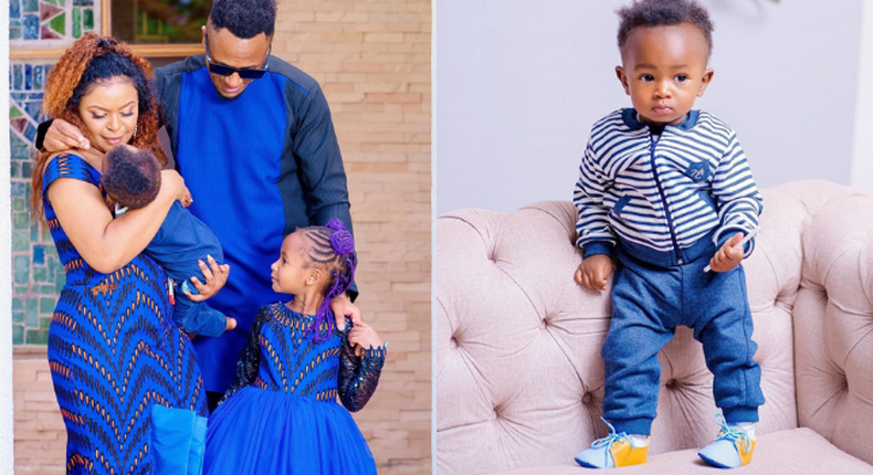 DJ MO, Size 8  and their kids Wambo and Muraya Jnr