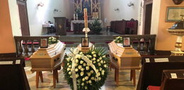 Pogrzeb Kacpra, Kamila i Zuzi, którzy zginęli w Darłówku