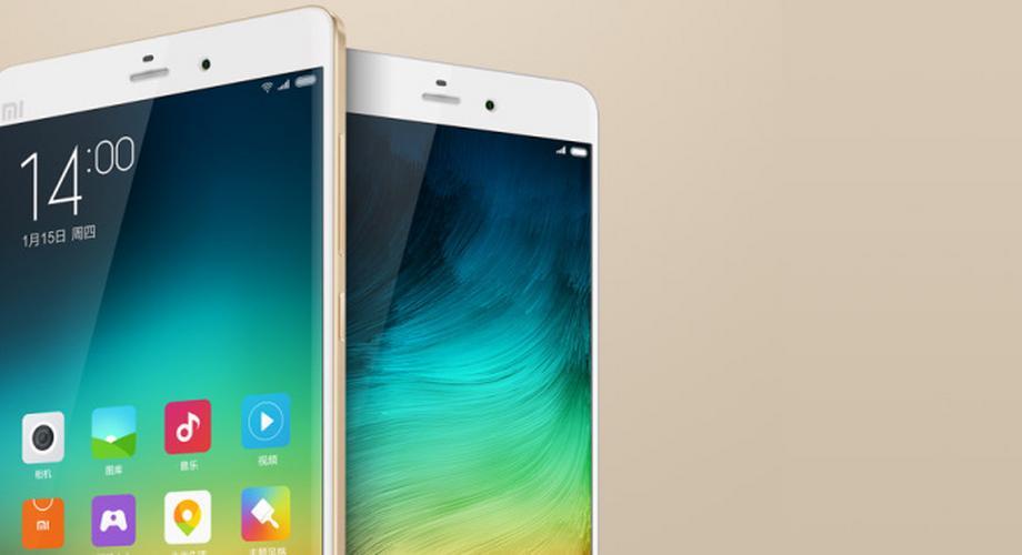 Mi Note & Mi Note Pro: 5,7-Zoll-Phablets von Xiaomi vorgestellt