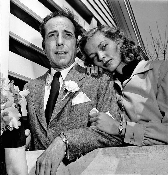 Ljubav koju ni smrt nije pobedila, Lorin Bekol i Hemfri Bogart