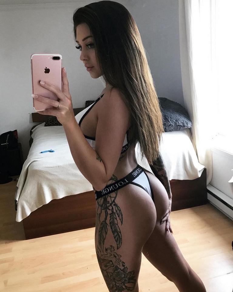 Valerie Cossette Seksowna Modelka Na Instagramie