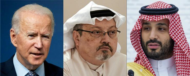 Džozef Bajden, Džamal Kašogi i Mohamed bin Salman