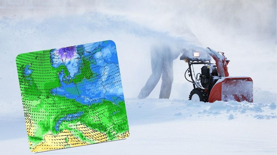 Pogoda. Na Polskę nadciągają kolejne śnieżyce i fala mrozów