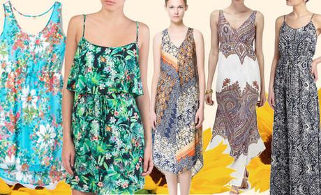 2469f162d5f6a Zwiewne, kolorowe, modne SUKIENKI PLAŻOWE