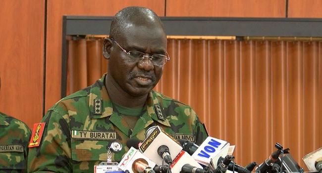 Nigeria's army chief Maj. Gen Tukur Yusuf Buratai [News Direct]