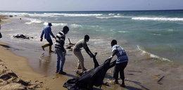 Ciała nielegalnych imigrantów leżały na plaży