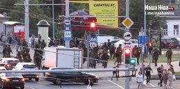 Szokujące nagranie z Białorusi. Żołnierz postrzelił dziennikarkę