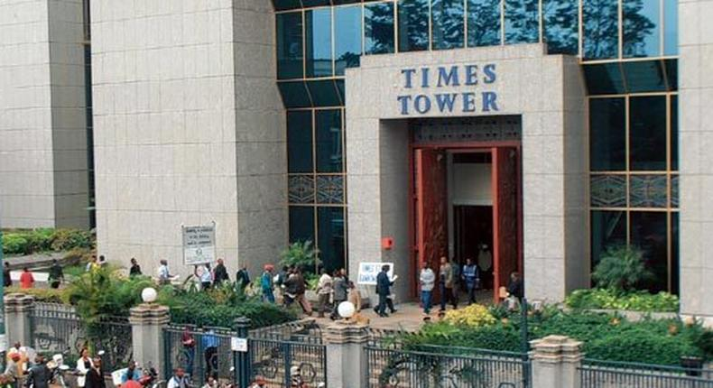 Times Tower building in Nairobi, KRA Headquarters