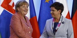 Merkel i Szydło. Razem przeciw... Brytyjczykom!
