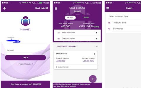 Investment apps in Nigeria i-invest