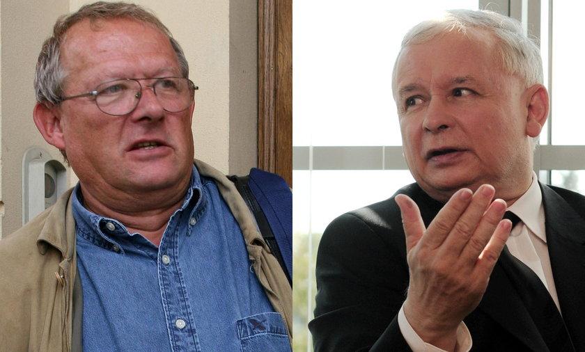 Jarosław Kaczyński, Adam Michnik