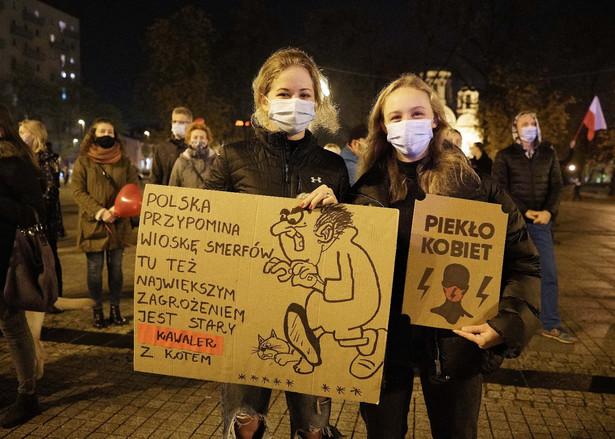Strajk kobiet. Demonstracja w Częstochowie