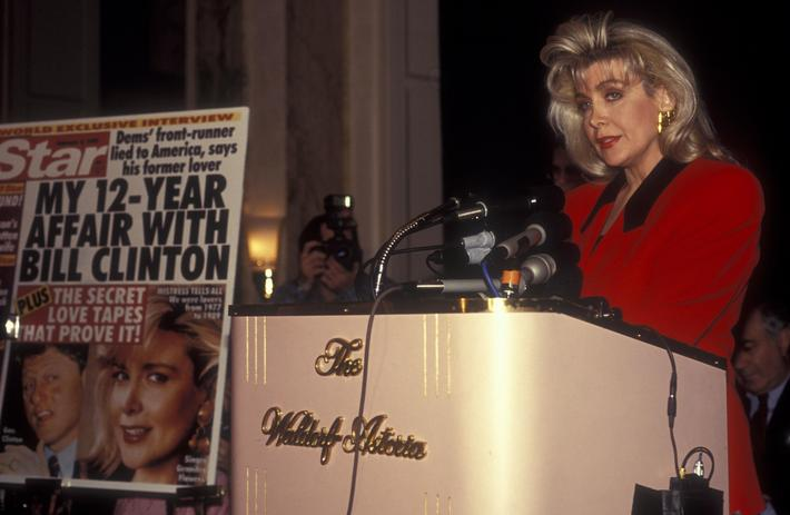 Gennifer Flowers Press Conference