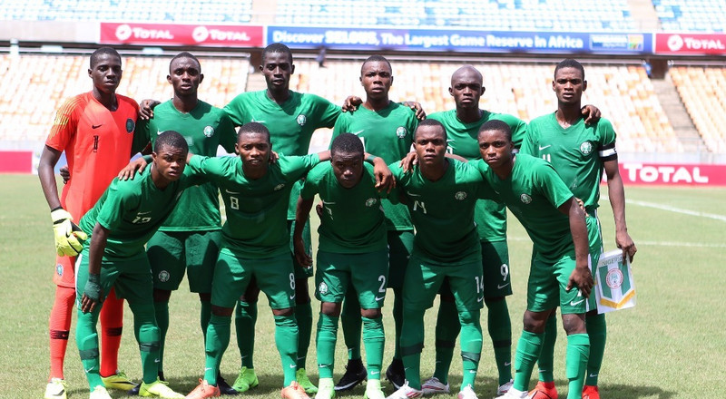 2019 U17 AFCON: Golden Eaglets of Nigeria play out 1-1 draw with Uganda to reach semifinals and also book 2019 FIFA U17 World Cup ticket