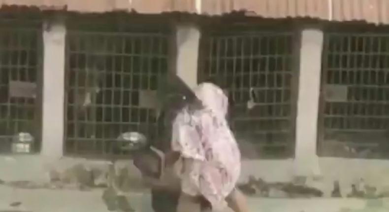 Abuse caught on film
