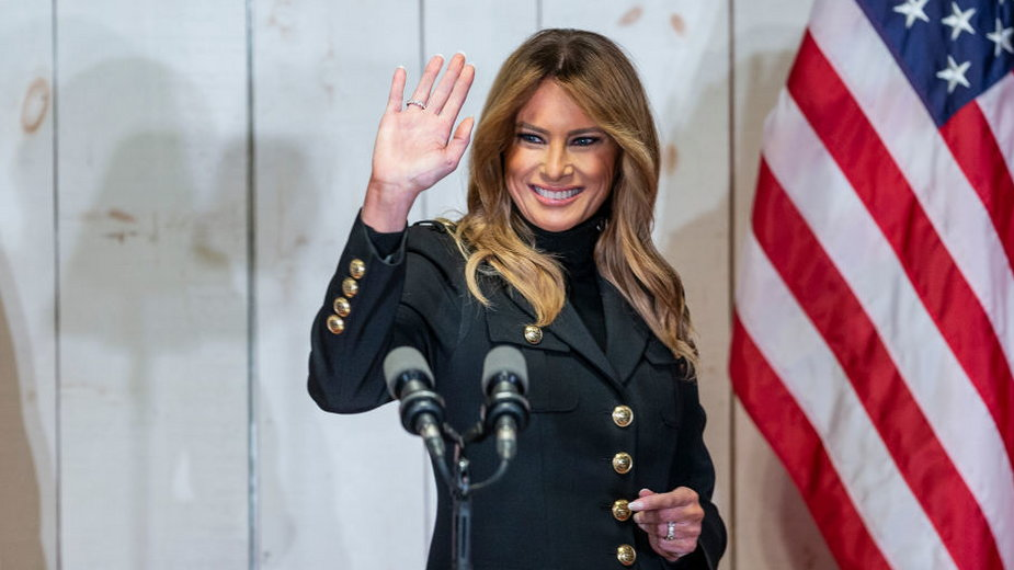 Melania Trump żegna się z Amerykanami