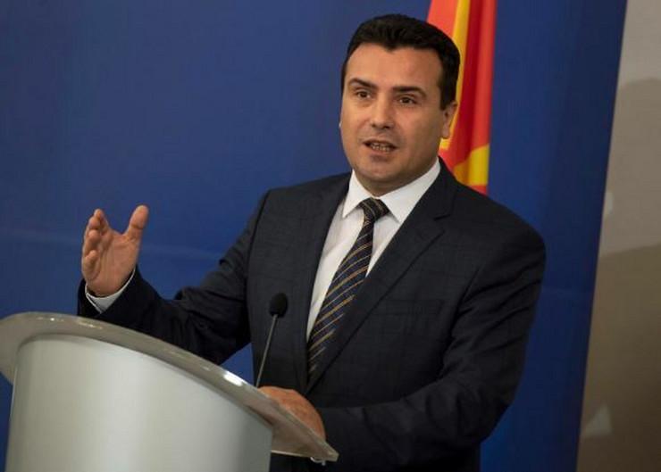 Zoran Zaev EPA Vasil Donev