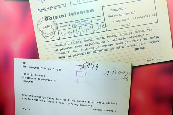 Izloženi autentični dokumenti iz Penezićeve zaostavštine