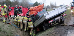 Tragiczny wypadek pod Olsztynem. Dwie osoby nie żyją