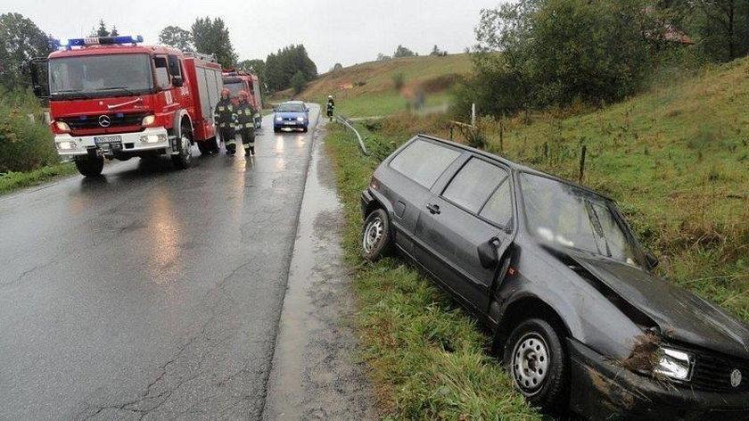 Wypadek w Mochnaczce Niżnej