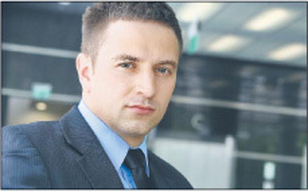 Piotr Maj, specjalista w departamencie marketingu bankowości przedsiębiorstw, Bank Millennium Fot. Wojciech Górski