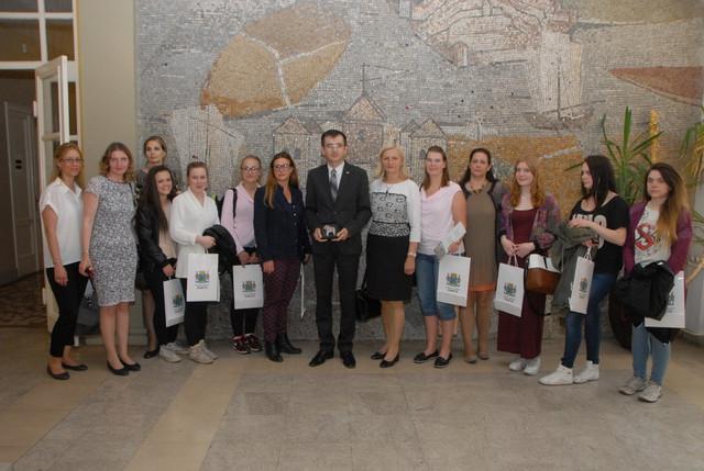 Učenice iz Švedske u opštini Zemun