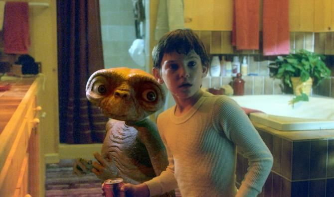 """Henri Tomas u filmu """"ET"""""""