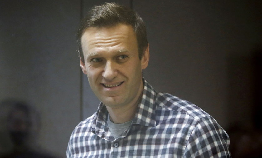 FILE PHOTO: Russian opposition figure Alexei Navalny attends a rally to demand the release of jailed