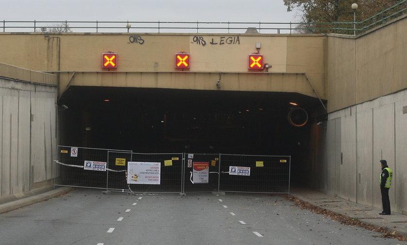 Tunel Wisłostrady w Warszawie