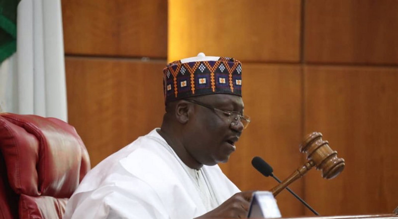 Lawan: We'll set up a committee to review the Constitution