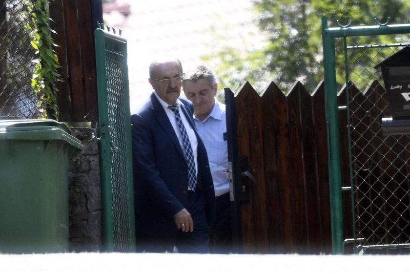 Marek Kuchciński i Andrzej Matusiewicz