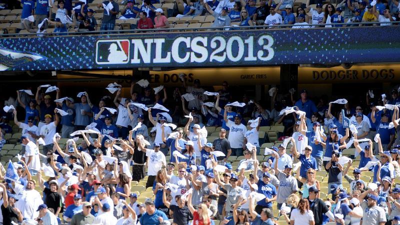 Kibice Los Angeles Dodgers