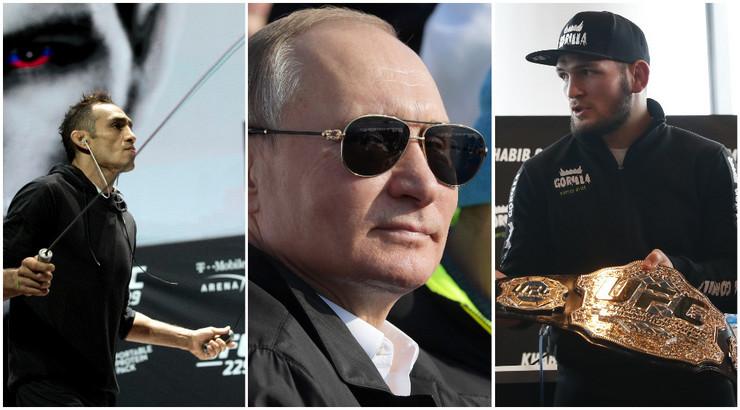 Toni Ferguson, Vladimir Putin i Habib Nurmagomedov