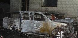 Spłonął dom i samochód