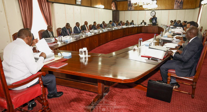 State House deletes the only photos showing DP William Ruto in gov't meeting dealing with coronavirus