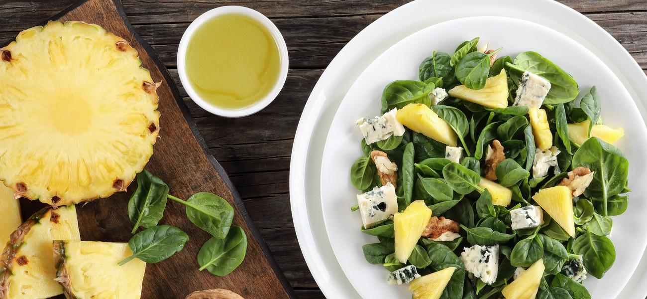 Salatka Z Ananasem