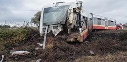 Groźny wypadek szynobusu koło Człuchowa. Kilkanaście osób rannych