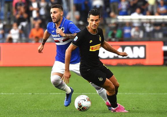 Inter, Sampdorija