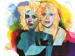 courtney love ilustracja
