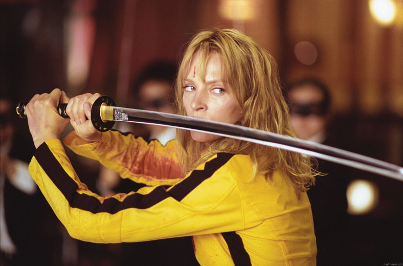 "Uma Thurman w filmie ""Kill Bill"""