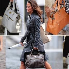 Pippa ma trzy takie same torebki