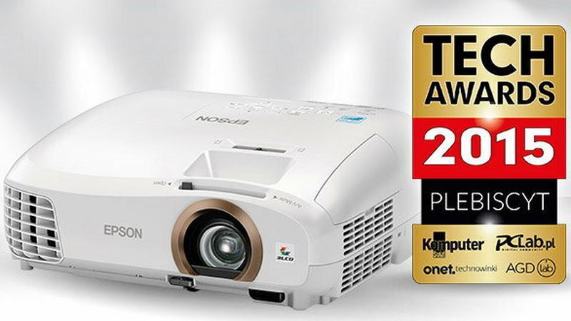 TechAwards 2015: szansa na wygranie projektora Epson EH-TW5350 - wystarczy zagłosować