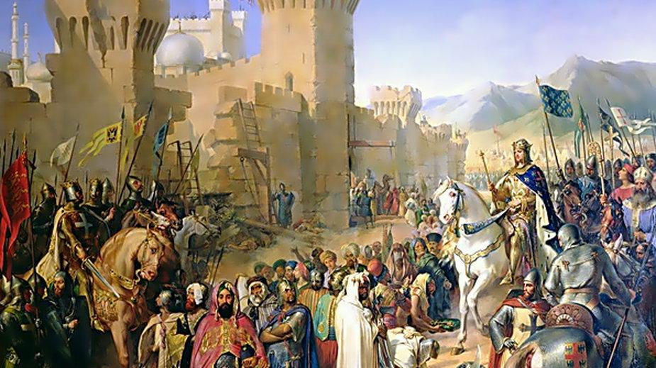 Zajęcie Akki przez krzyżowców w 1191 r.
