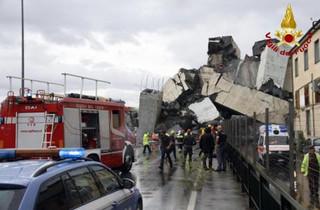 Katastrofa wiaduktu w Genui: Do 41 wzrosła liczba ofiar