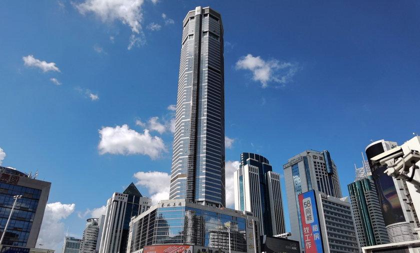 Wieżowiec SEG Plaza w Shenzen (Chiny)