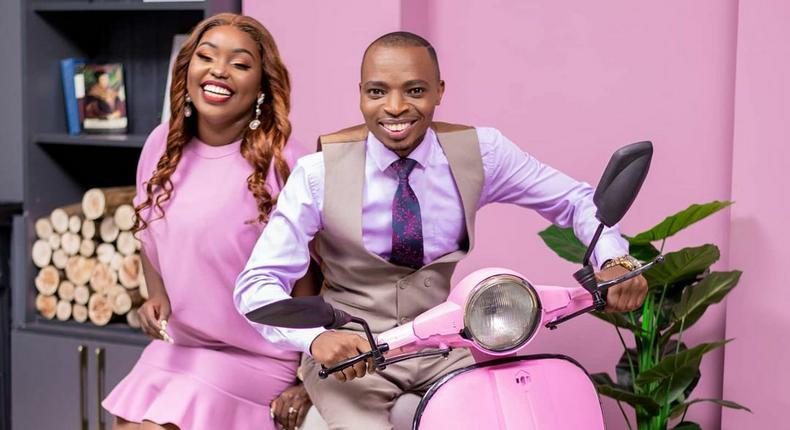 Lofty Matambo and Frida Mwaka