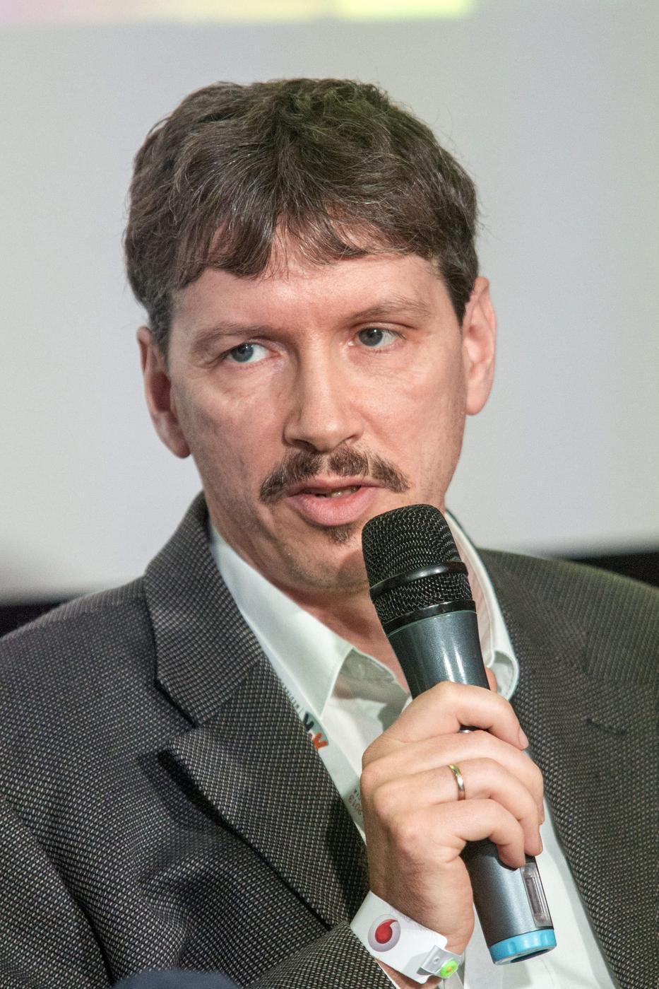 Zsolt Péter média-szociológus /Fotó: MTI/Szigetváry Zsolt