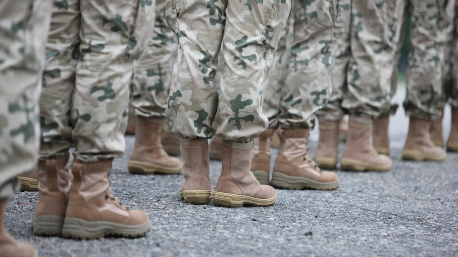Żołnierze wylatujący do Afganistanu