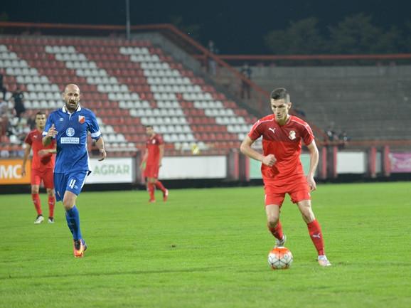 Potencijalni reprezentativac: Dobrim igrama Slobodan Urošević je zaslužio poziv selektora Slavoljuba Muslina