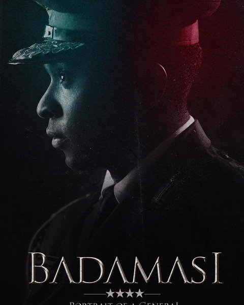 The official poster for 'Badamasi: Portrait of a General' [Instagram/@obiemelonye]
